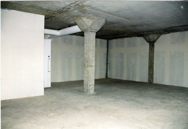 Raw apartment shell prior to fit-out
